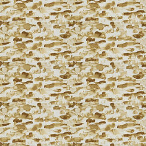 Fabricut Print Works Amber Gold Fabric - Fabric