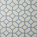 Fabricut 50291W Waller Harbor Blue 02 Wallpaper