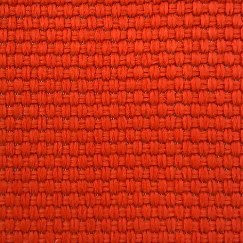 Old World Weavers Madagascar Solid Fr Tangerine Fabric - Fabric