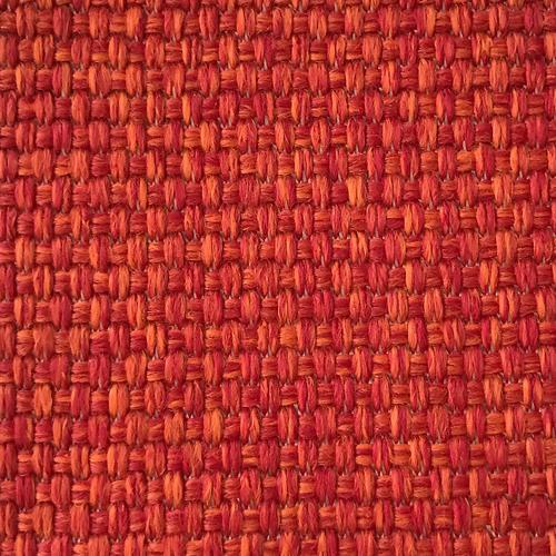 Old World Weavers Madagascar Solid Fr Tomato Fabric - Fabric