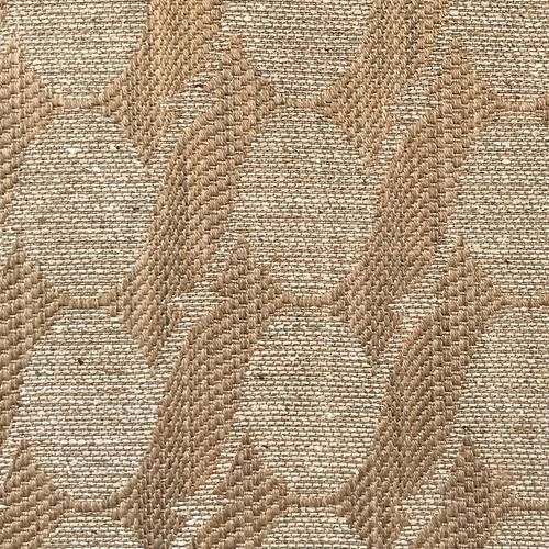 Old World Weavers Stone Silk Brighton Quality Nut Fabric - Fabric