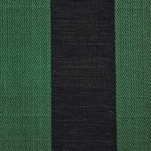 Old World Weavers Breton Horsehair Black / Green Fabric - Fabric