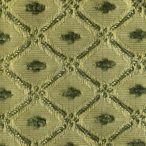 Old World Weavers Jewel Tones Green Fabric - Fabric