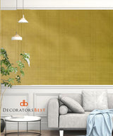 Scalamandre Etched Ore Gold Wallpaper