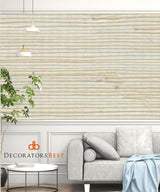 Scalamandre Organic Jute On Metallic Metallic Wallpaper