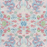 Schumacher Magic Mountain Dragon Blush Fabric