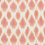Schumacher Presidio Ikat Orange Fabric