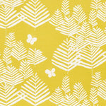 Schumacher Fern Silhouette Yellow Fabric