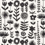 Schumacher Wild Things Black Fabric