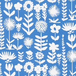 Schumacher Wild Things Blue Fabric