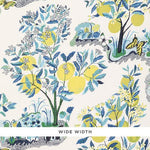 Schumacher Citrus Garden Sheer Pool Fabric
