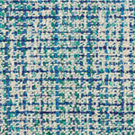 Schumacher Babe'S Tweed Peacock Fabric