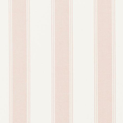 Schumacher Rafe Stripe Quiet Pink Fabric - Fabric
