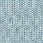 Schumacher Crosby Blue Fabric