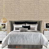 Decoratorsbest Linen Park Sand Wallpaper