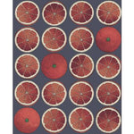 Cole & Son Arance Blood Orange/Ink Wallpaper