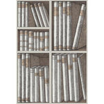 Cole & Son Ex Libris Stone/Linen Wallpaper