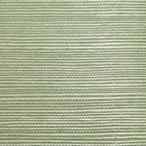 Scalamandre Organic Sisal Sea Glass Wallpaper - Wallpaper