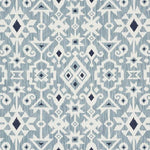 Schumacher Crusoe Ikat Sky Fabric