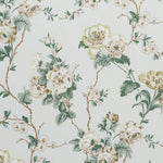 Schumacher Betty Chintz Celadon Fabric