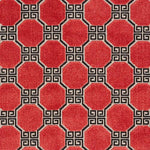 Schumacher Octavia Velvet Ruby Fabric