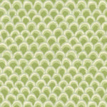 Brunschwig & Fils Pave Cotton And Linen Print Kiwi Fabric