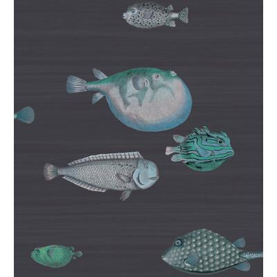 Cole & Son Acquario Ink Wallpaper - Wallpaper