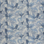Vervain Himalayan Floral Bluebell Fabric