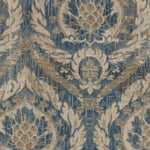Waverly French Quarter Antique Blue Fabric