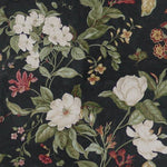 Waverly Garden Images Black Fabric