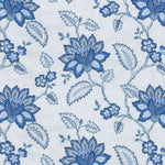 Waverly Perennial Embroidery Delft Fabric