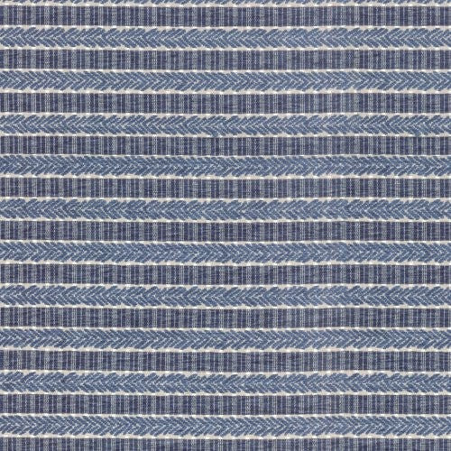 Waverly Admiral Stripe Baltic Fabric - Fabric