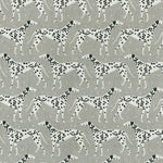 Novogratz Dapper Dalmatian Grey Fabric