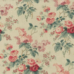Waverly Emma'S Garden Rosewood Fabric