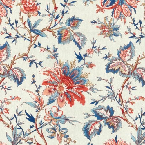 Waverly Felicite/Sd Rouge Fabric - Fabric