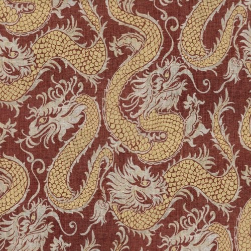 Waverly Good Fortune Jewel Fabric - Fabric