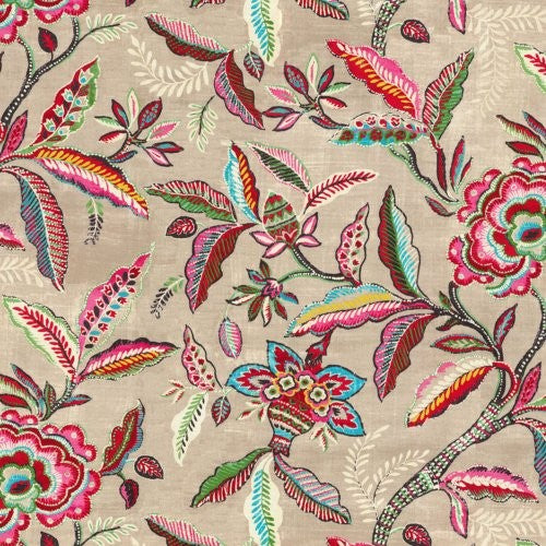 Waverly Key Of Life Jubilee Fabric - Fabric