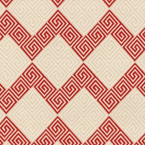 Waverly On Key Red Fabric - Fabric