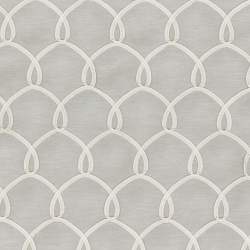 Waverly Penelope Emb Cloud Fabric - Fabric