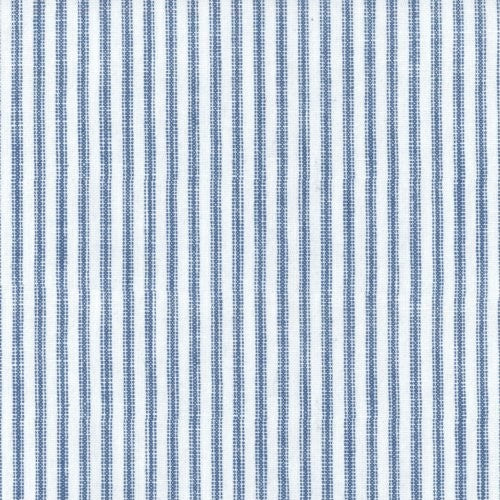 Waverly Pisa Stripe Denim Fabric - Fabric