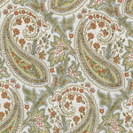 Williamsburg Plumtree Paisley/ Spring Fabric