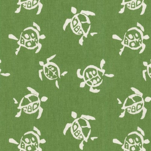Waverly Sea Turtles Verte Fabric - Fabric