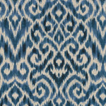 Williamsburg Thompson Ikat Ink Fabric