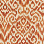 Williamsburg Thompson Ikat Persimmon  Srd Fabric