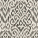 Williamsburg Thompson Ikat Pewter Fabric