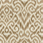 Williamsburg Thompson Ikat Taupe Fabric