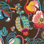 Genevieve Gorder Tropical Fete Onyx Fabric