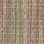 Phillip Jeffries Basket Case Woven Rattan  Java Red Wallpaper