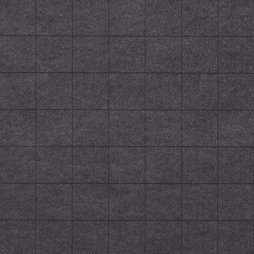 Phillip Jeffries Savile Suiting Plaid  Antique On Grey On Grey Wallpaper - Wallpaper