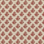 G P & J Baker Poppy Paisley Red Fabric
